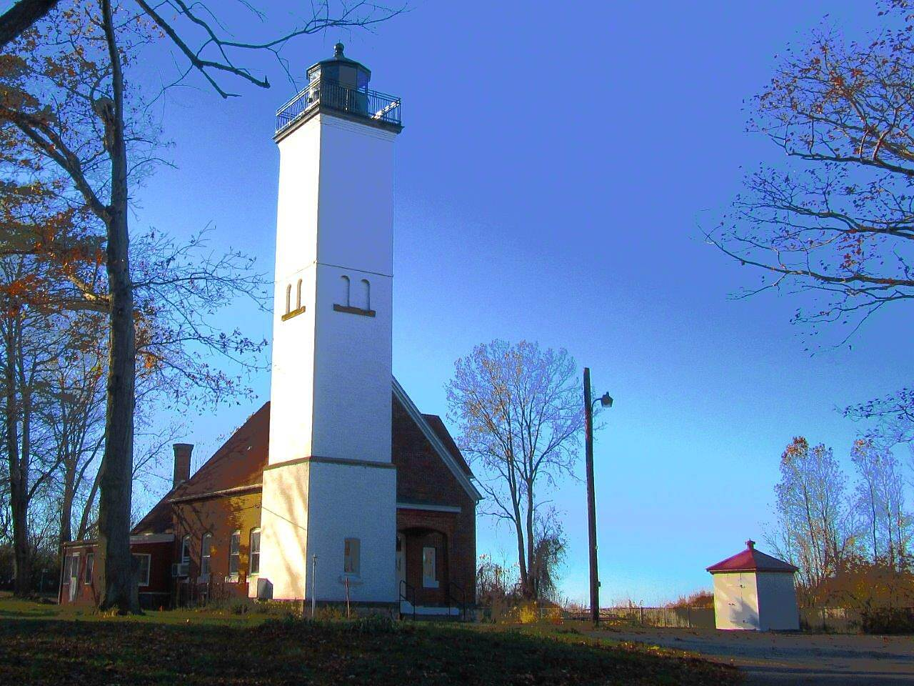 Karl Boyes Multi-purpose Trail Lighthouse Presque Isle Lighthouse.  Open seasonal.