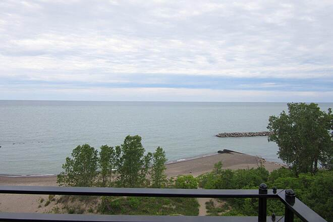 Karl Boyes Multi-purpose Trail View from Lighthouse Take advantage of the view from the Presque Isle Lighthouse top.
