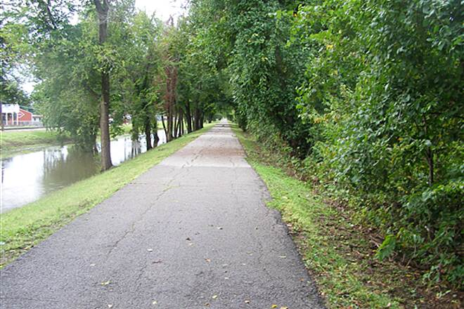 KATY Trail (Tulsa) Katy Trail Tulso 2009 After Hard Rain