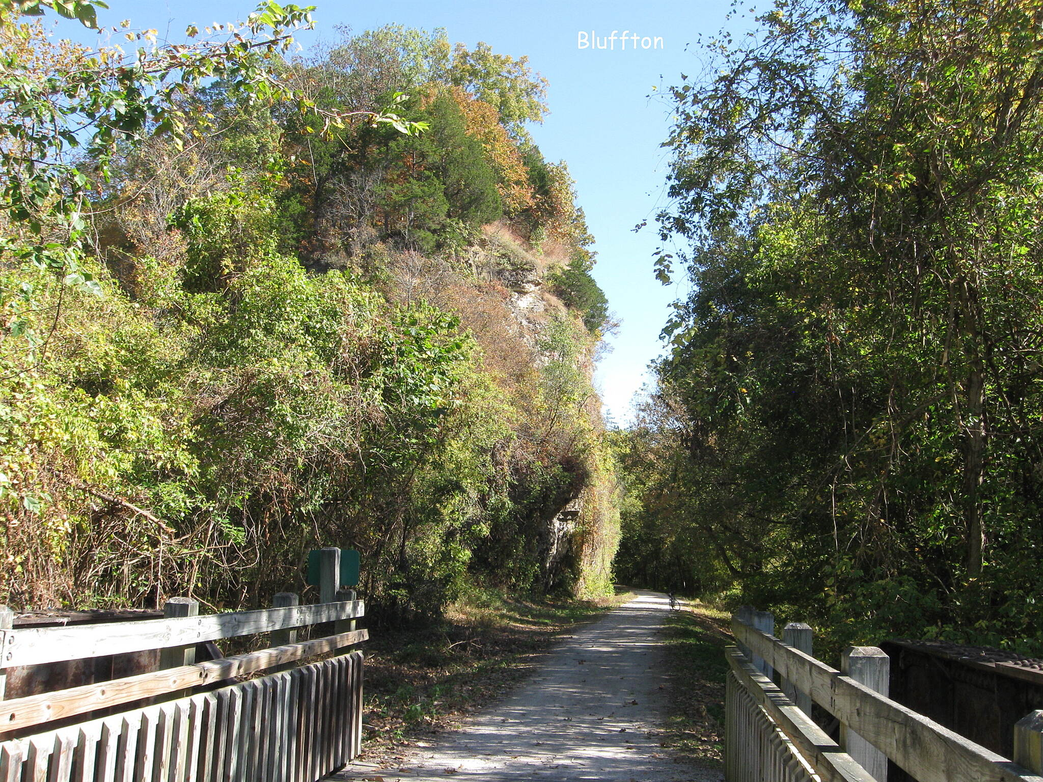 Katy Trail State Park Bluffs