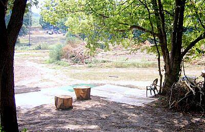 Katy Trail State Park Play Ground This scene is above Boonville, it is a carpeted play area with a dart board.