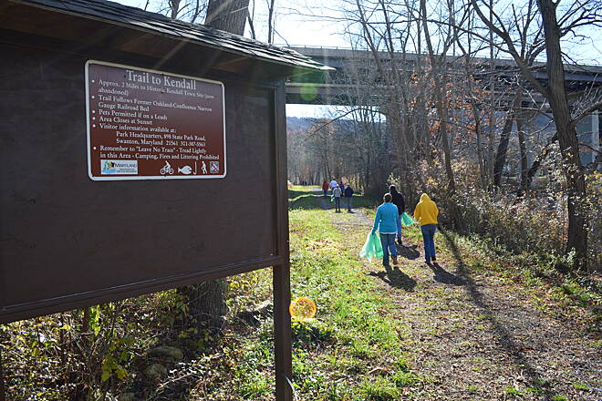 Kendall Trail Trail Cleanup