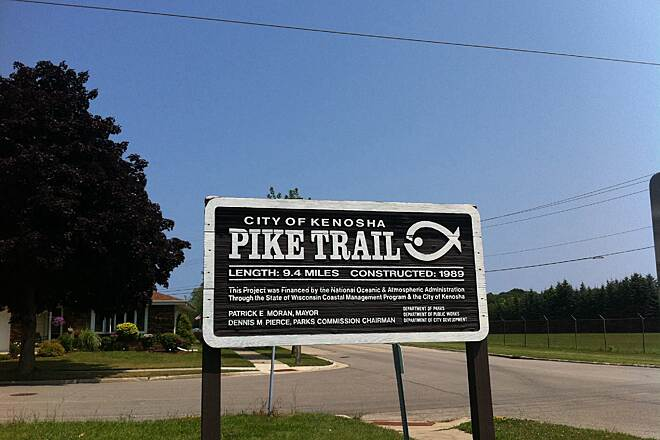 Kenosha County Bike Trail Pike River Pathway