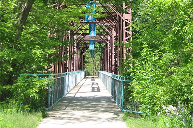 Kent Trails Kent Trails by the bridge Who said GR isn't pretty