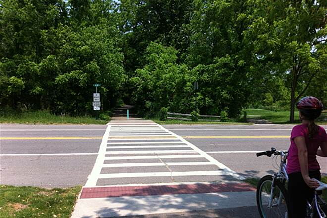 Kent Trails Kent Trails - 76th St. Crossing Looking North