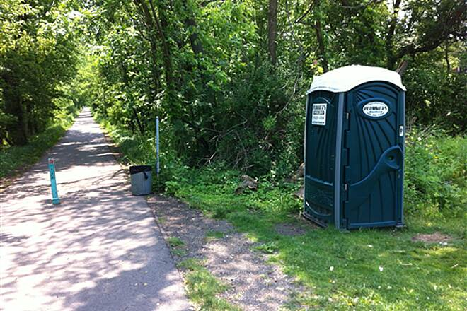 Kent Trails Kent Trails - 76th St. Crossing Looking South - Seasonal Rest Room Facility Too