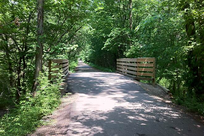 Kent Trails Kent Trails - Foot Bridge North of 72nd Ave