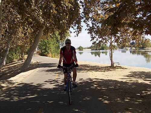 Kern River Parkway Trail Shade at last!