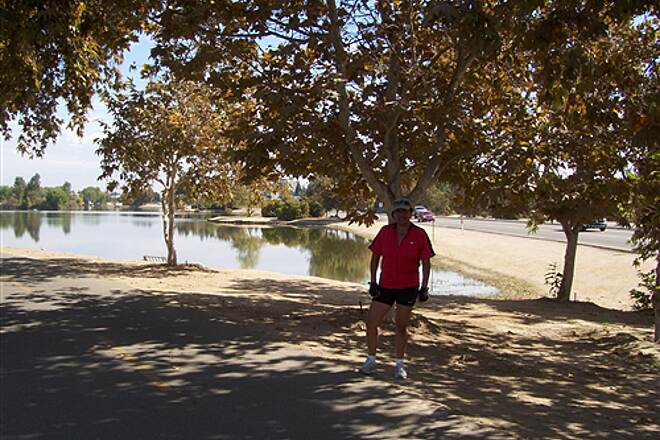 Kern River Parkway Trail Another beautiful resting spot