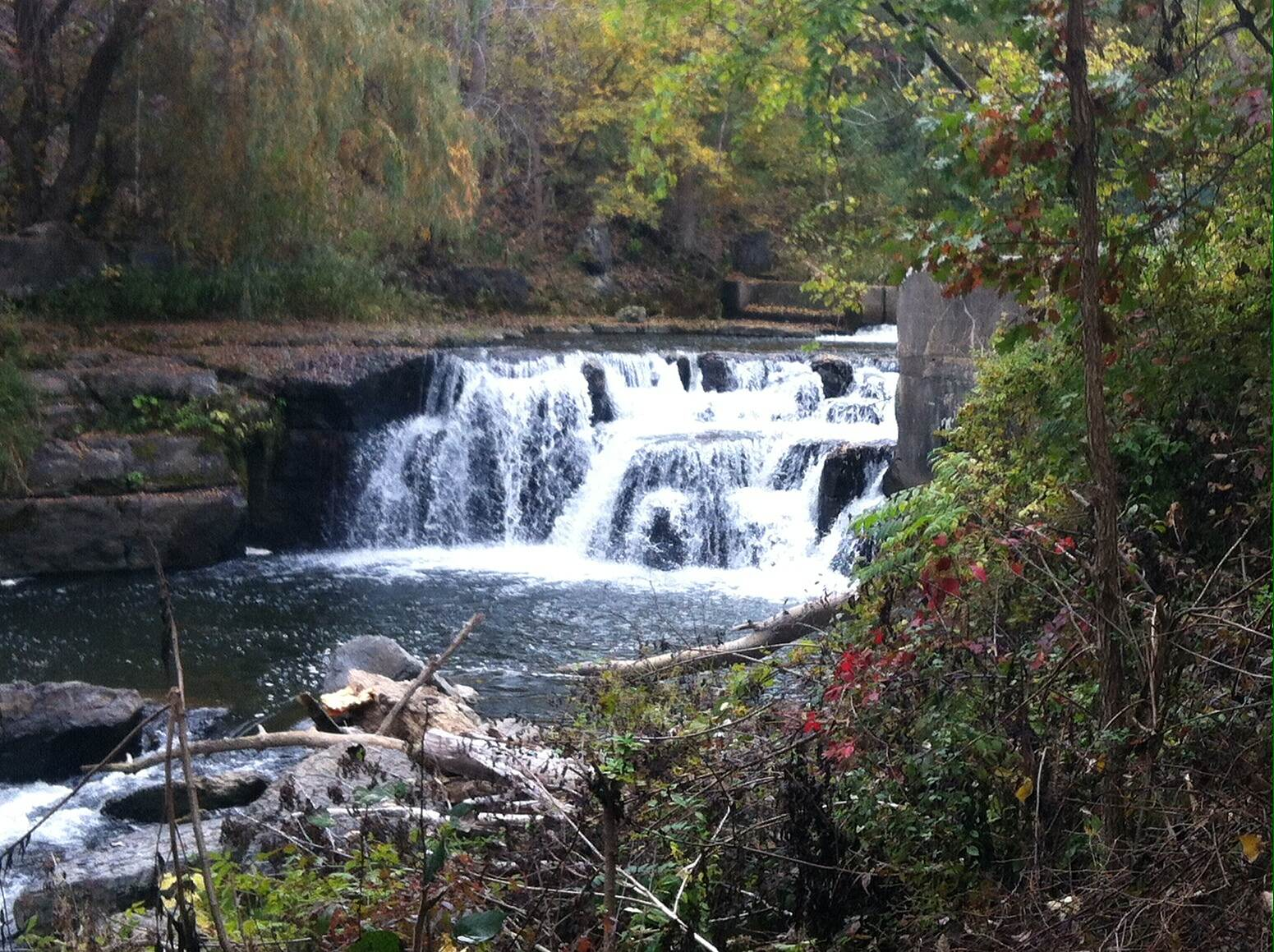 Keuka Outlet Trail Waterfalls Taken Sat, 10/5/13