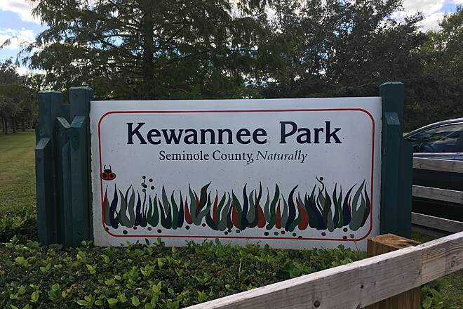 Kewannee Trail Entrance to the park Entrance