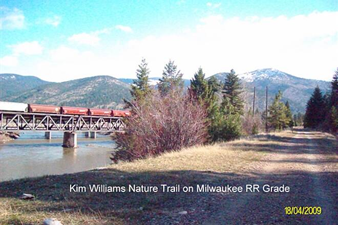 Kim Williams Nature Trail Kim Williams Nature Trail Along Clark Fork River