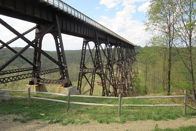 Kinzua Bridge Skywalk Skywalk  the Skywalk-May, 2015