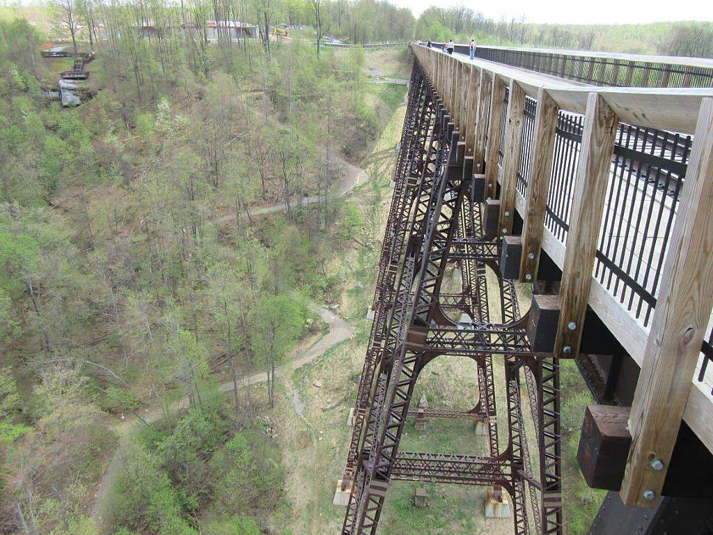 Kinzua Bridge Skywalk View from the skywalk View from the Skywalk - May 2015