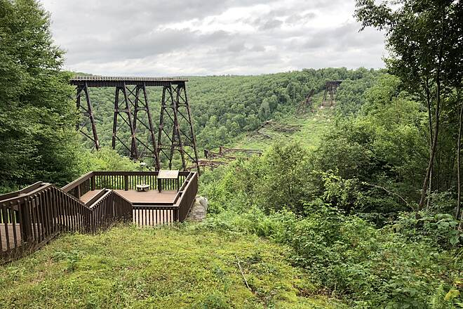 Kinzua Bridge Skywalk Kinzua Bridge Skywalk Photo Courtesy of Anthony Le