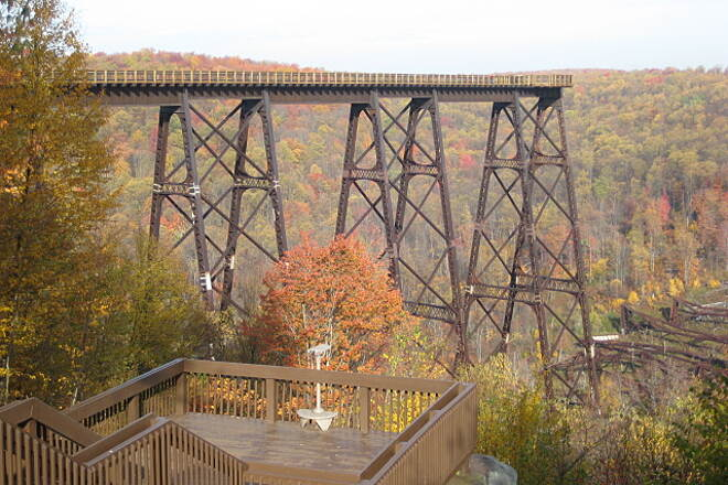 Kinzua Bridge Skywalk Kinzua Bridge Taken in October, 2011.