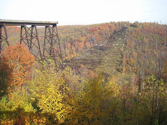 Kinzua Bridge Skywalk Kinzua Bridge Taken in October, 2011