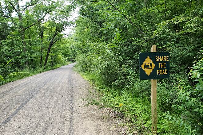 Kinzua Valley Trail Kinzua Valley Trail Remember to share the road and accommodate for everyone using the trails in their own way.
