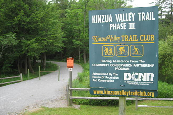 Kinzua Valley Trail Trailhead in Westline, PA June 22nd, 2013
