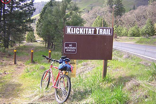 Klickitat Trail Klickitat Trail 7-Crossing SR142