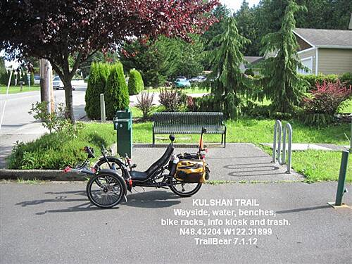 Kulshan Creek Trail KULSHAN TRAIL Wayside at NE 18th PL.
