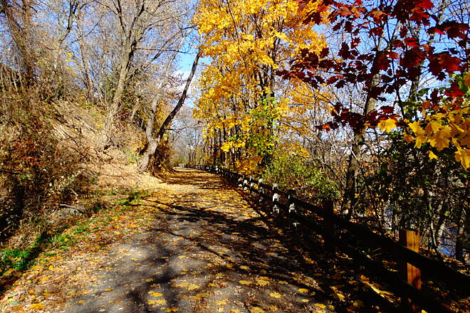 Lackawanna River Heritage Trail CNJ section, South Scranton