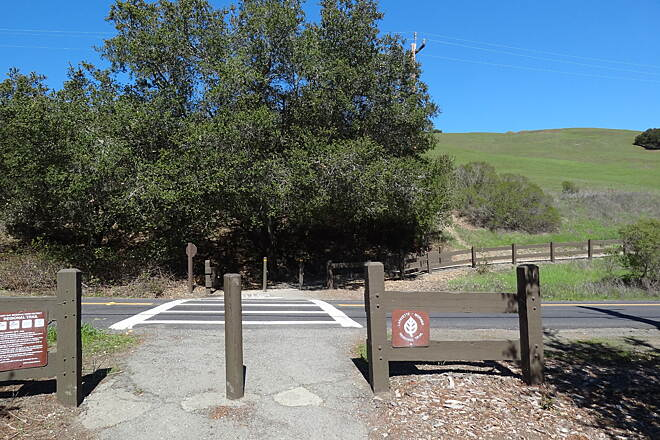 Lafayette-Moraga Regional Trail Lafayette/Moraga Trail Moraga 'End of Trail' with parking...