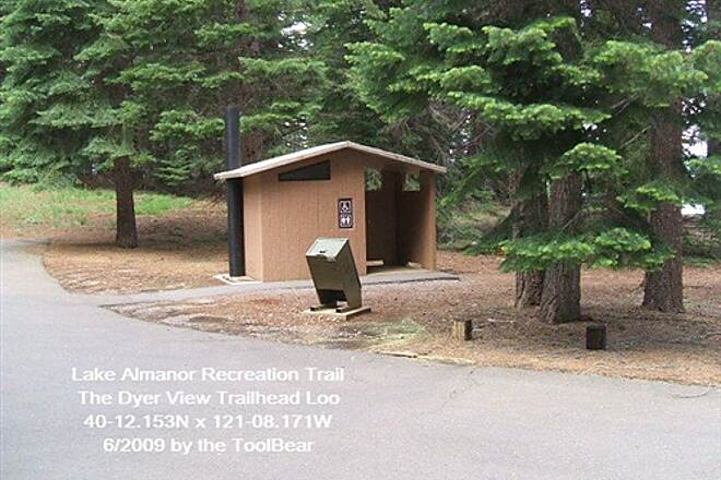 Lake Almanor Recreation Trail LAKE ALMANOR RECREATION TRAIL This is a handy thing to find mid trail