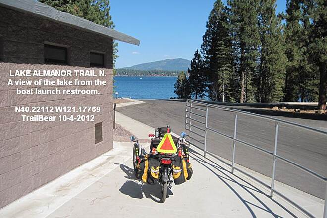 Lake Almanor Recreation Trail LAKE ALMANOR REC. TRAIL - NORTH Take your lake views where you can get them.