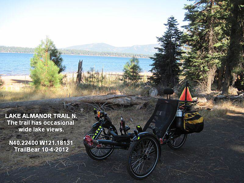 Lake Almanor Recreation Trail LAKE ALMANOR REC. TRAIL - NORTH If you find a good lake view, stop and enjoy.