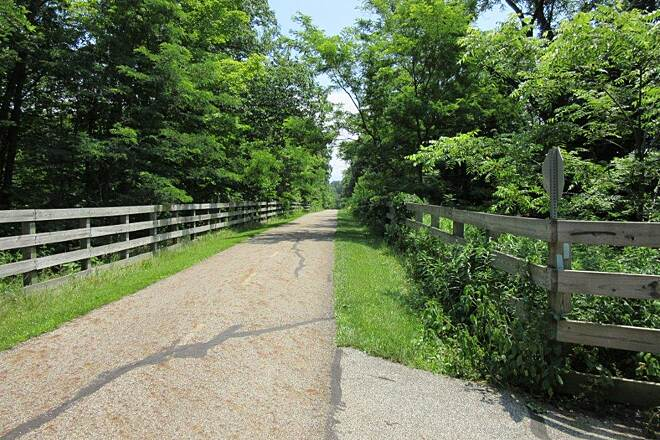 Lake Metroparks Greenway Corridor Trail at Concord Trail at Concord TWP-July 2015