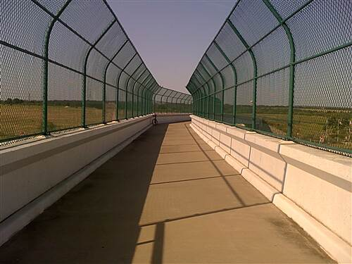Lake Mineral Wells State Trailway Overpass highway overpass