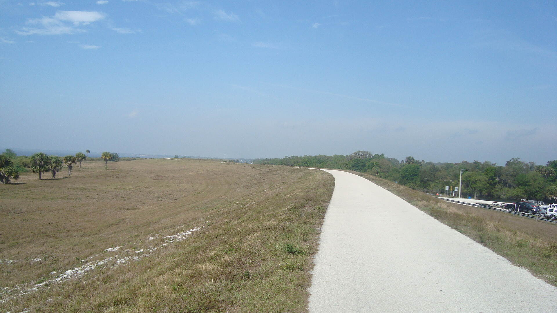 Lake Okeechobee Scenic Trail (LOST) Top of the rim
