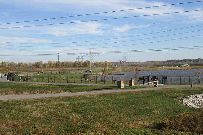 Lakeside Park Trail Dog Park Fee may apply