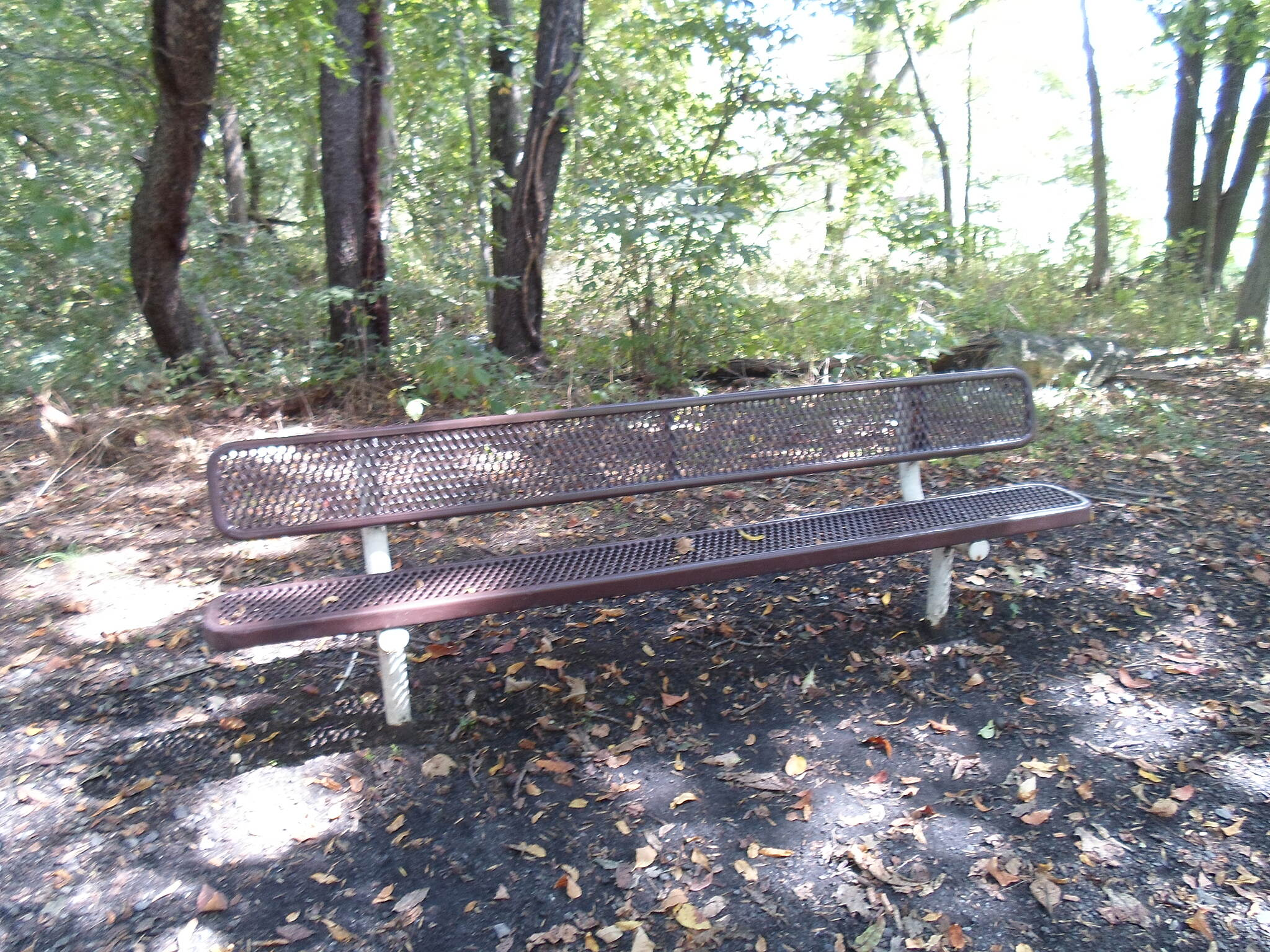 Lancaster Junction Trail Lancaster Junction Trail Benches provide a nice rest after a walk, run or bike ride.