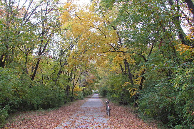 Landon Nature Trail A Fall Morning Ride On the Landon Nature Trail, 10/12/2012