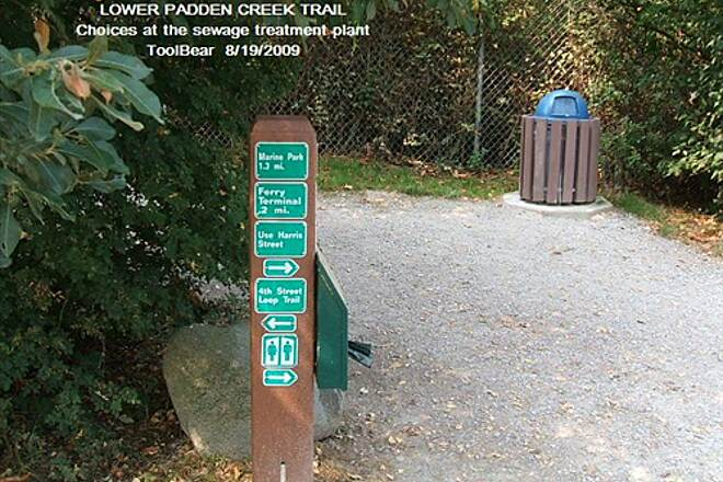 Larrabee Trail LOWER PADDEN CREEK TRAIL A choice of directions