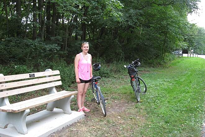 Lebanon Valley Rail-Trail Great Trail My daughter and I rode the trail 8/8/15. This picture was taken near the Mt Wilson Rd parking area.