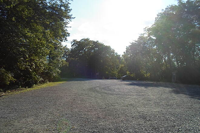 Lebanon Valley Rail-Trail Lebanon Valley Rail Trail This large, gravel lot at the Colebrook park provides ample parking for trail users. Taken Aug. 2015.