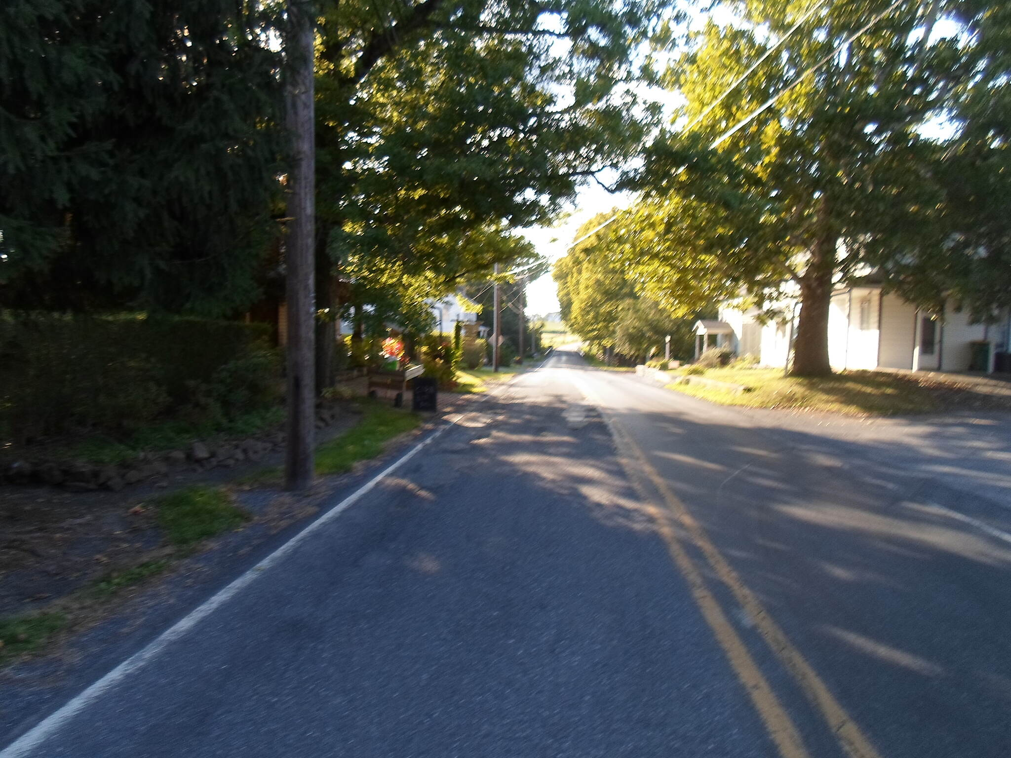 Lebanon Valley Rail-Trail Lebanon Valley Rail Trail View down the road from the trail crossing next to Lawn Community Park in the small rural village in southwest Lebanon County.