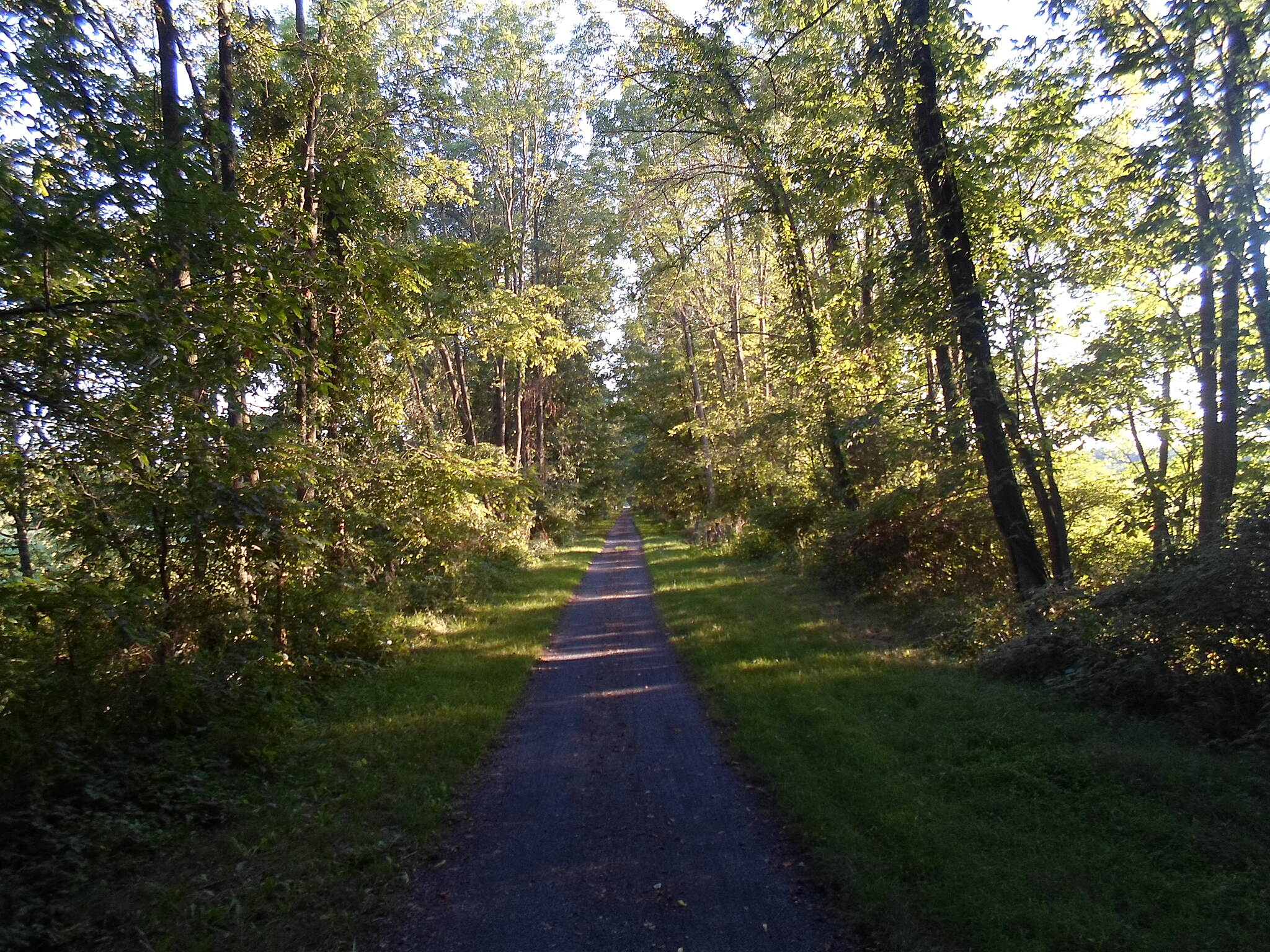 Lebanon Valley Rail-Trail Lebanon Valley Rail Trail The cool shade on the wooded sections of the LVRT provides a welcome refuge from the sun in the warm months of the year. Taken Aug. 2015.
