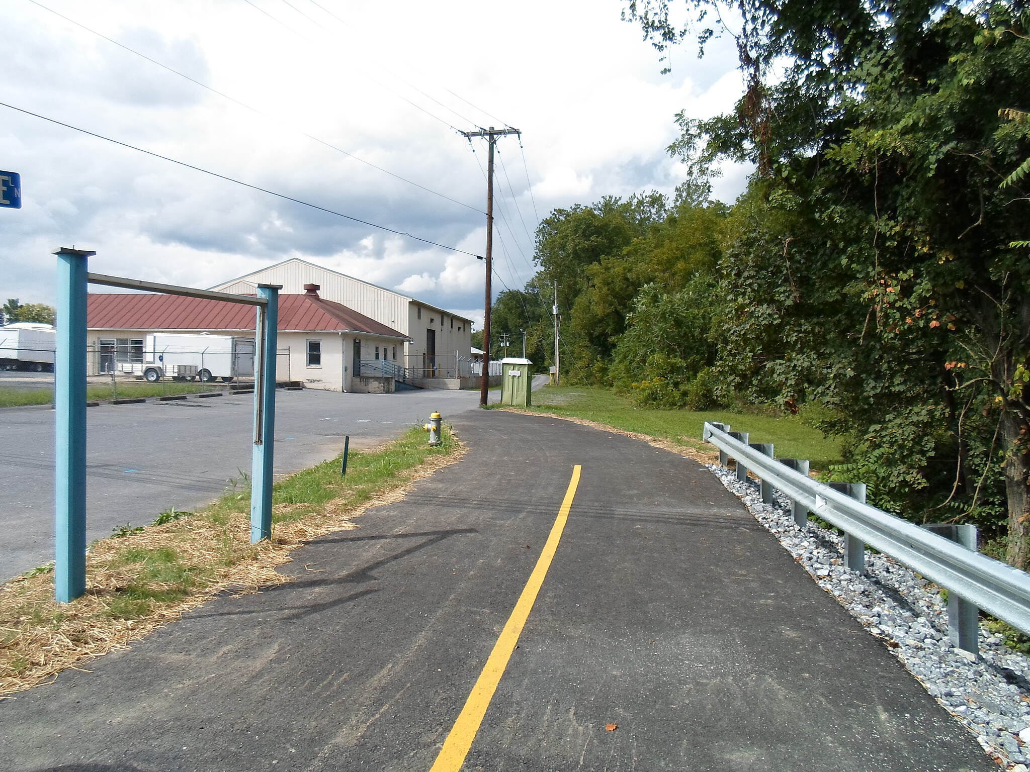 Lebanon Valley Rail-Trail Lebanon Valley Rail Trail The first segment of the trail north of Lebanon opened in Jonestown last summer. Currently isolated from the rest of the greenway, this portion of the trail will eventually be extended south to Lebanon and north to Lickdale. Taken Sept. 2016.