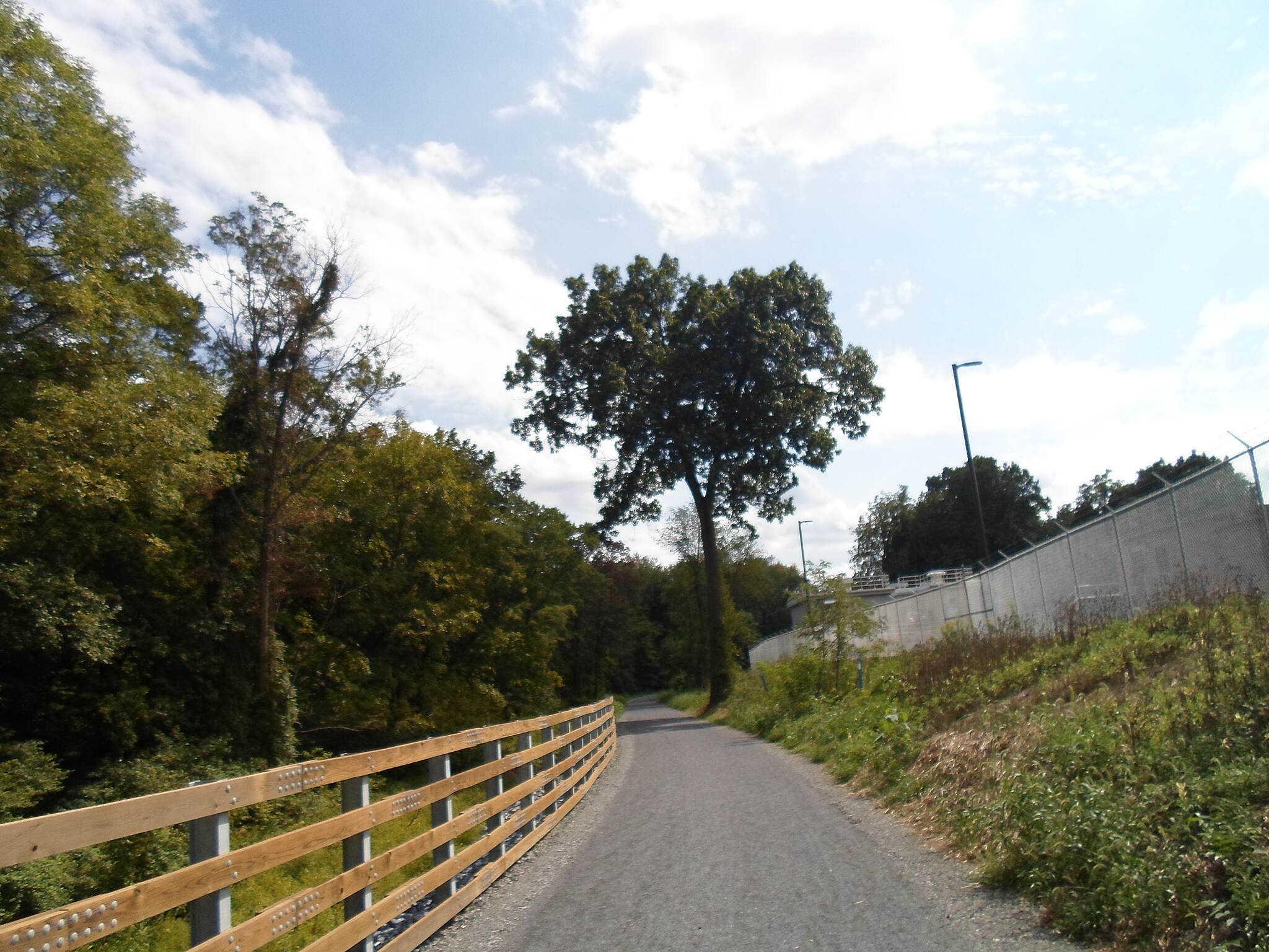 Lebanon Valley Rail-Trail Lebanon Valley Rail Trail Looking south on the newest segment of the trail in Jonestown. Taken Sept. 2016.