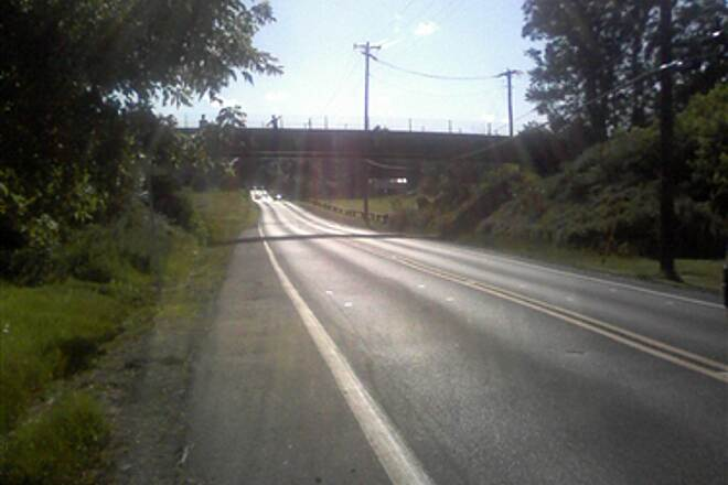Lebanon Valley Rail-Trail Lebanon Valley Rail Trail Wilhelm Ave. overpass