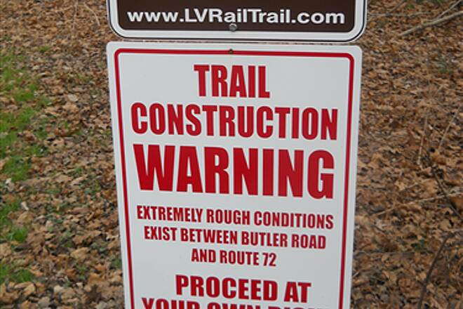 Lebanon Valley Rail-Trail Trailhead At the junction of Mt Wilson Rd and Mt Gretna Rd near Mt Gretna in South Londonderry Township