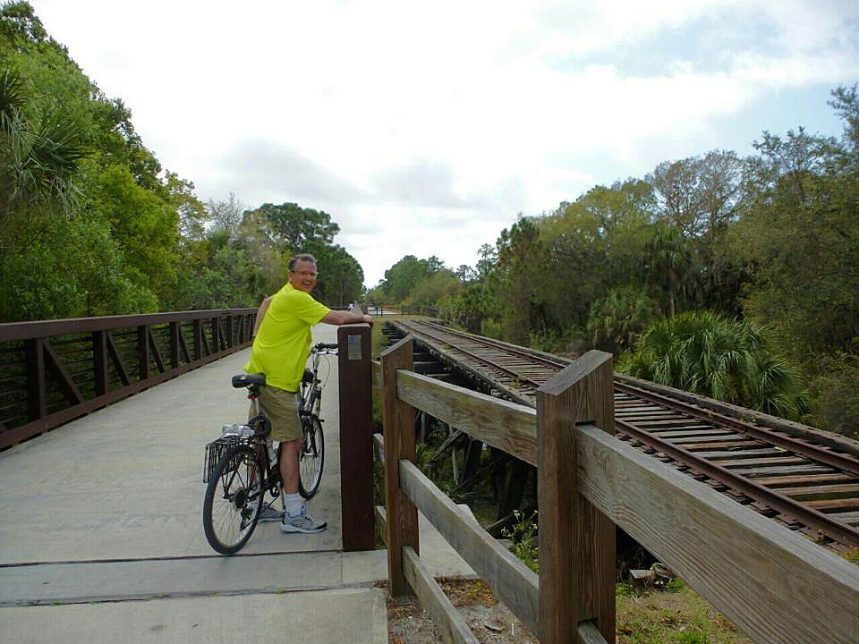 Legacy Trail (FL) Exploring The Legacy Trail... Enjoying The Legacy Trail for the first time!  Started at Macintosh Rd in Sarasota and rode to the end of The Venetian Waterway.  What a great day!  Can't wait to do it again!