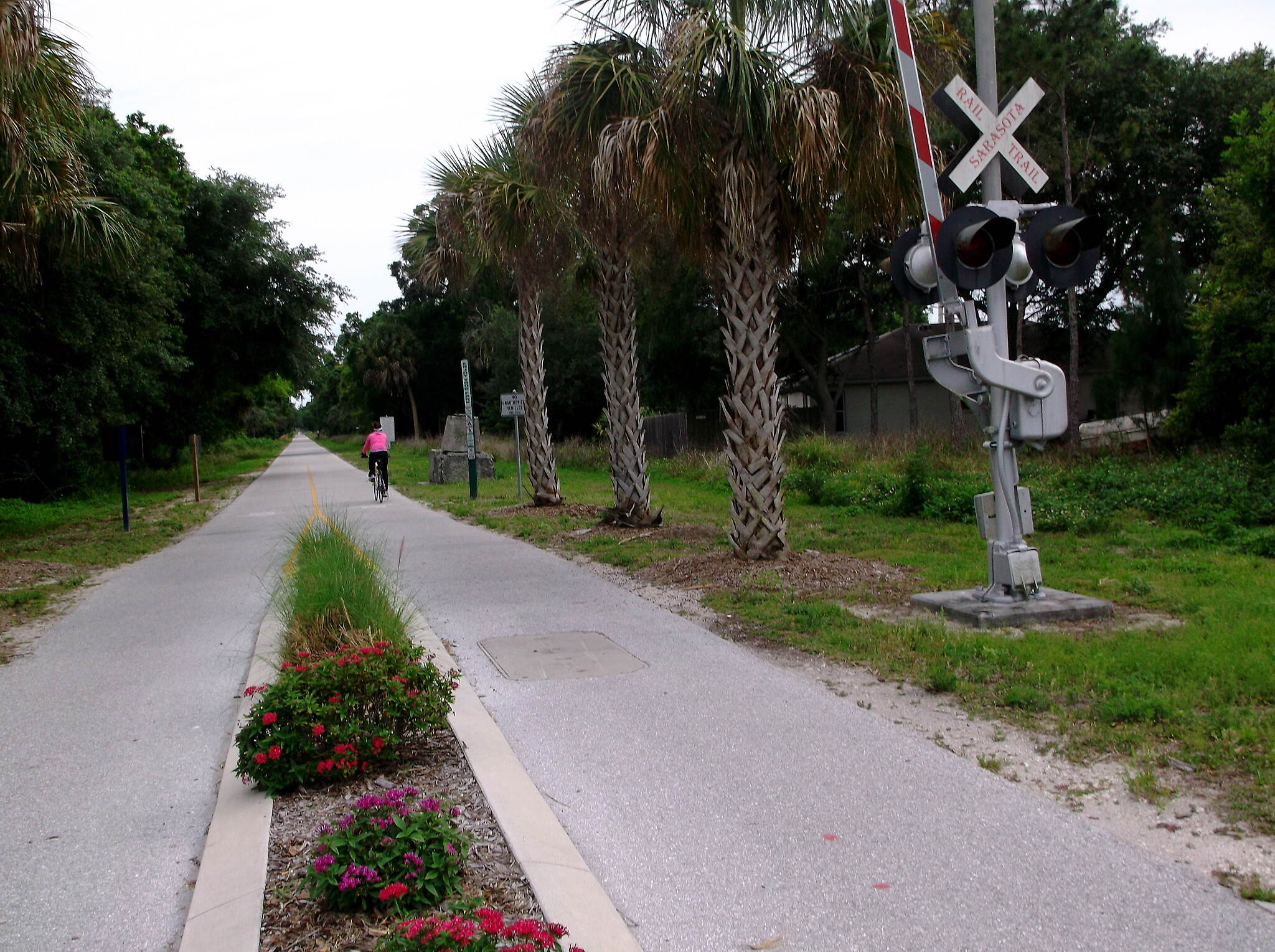 Legacy Trail (FL) Two Miles Out of Venice This is just after busy intersection crossing.