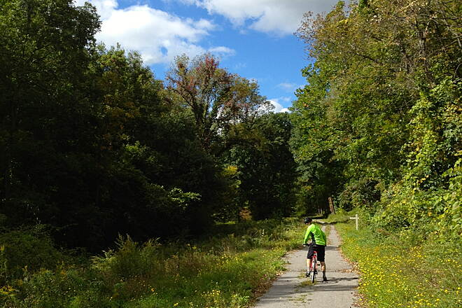 Lehigh Valley Trail - North Branch On the northern branch of the Lehigh Valley Trail