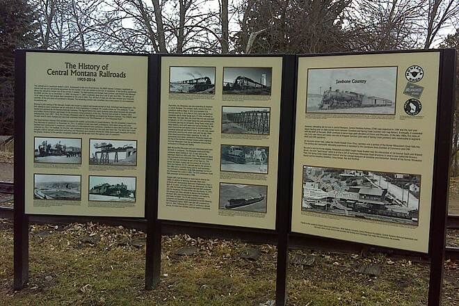 Lewistown City Trail System  History of Central Montana Railroads History of Central Montana Railroads at Simms Park