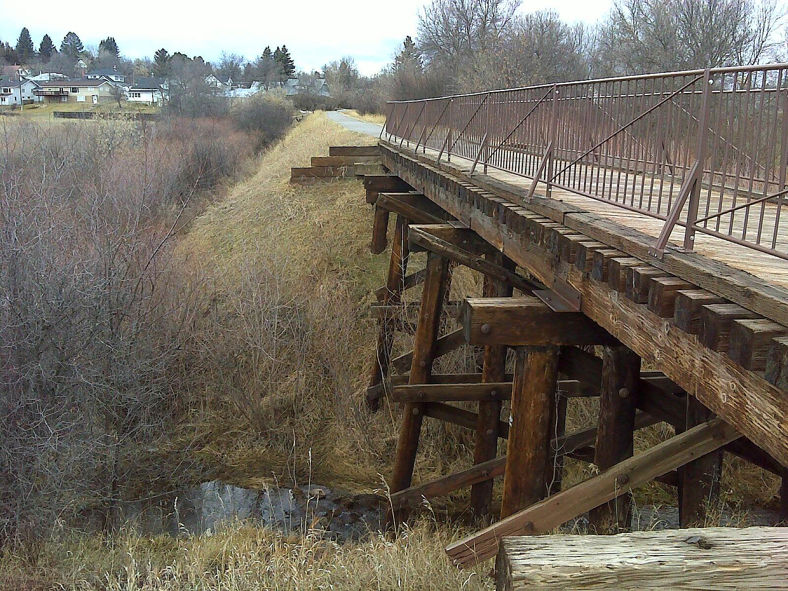 Lewistown City Trail System  Bridge over Little Casino Creek Bridge over Little Casino Creek
